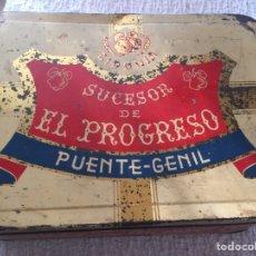 Cajas y cajitas metálicas: CAJA METAL. Lote 194700061