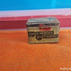 Cajas y cajitas metálicas: ANTIGUA CAJITA METÁLICA EADIES'IMPROVED . Lote 194751281