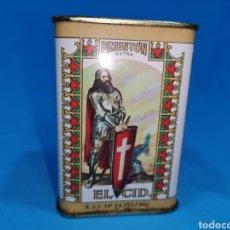 Cajas y cajitas metálicas: LATA DE PIMENTÓN, EL CID. ESPINARDO (MURCIA). Lote 194764082