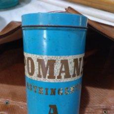 Cajas y cajitas metálicas: BOTE MEDICAMENTO POMANA. Lote 194888687