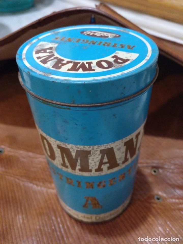Cajas y cajitas metálicas: BOTE MEDICAMENTO POMANA - Foto 2 - 194888687