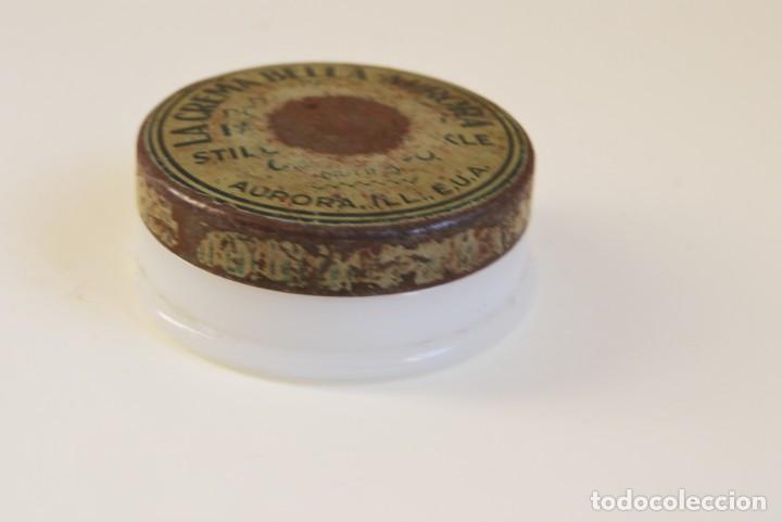 Cajas y cajitas metálicas: BOTE DE CREMA BELLA AURORA - CRISTAL Y METAL - AÑOS 30 - Foto 3 - 194894863