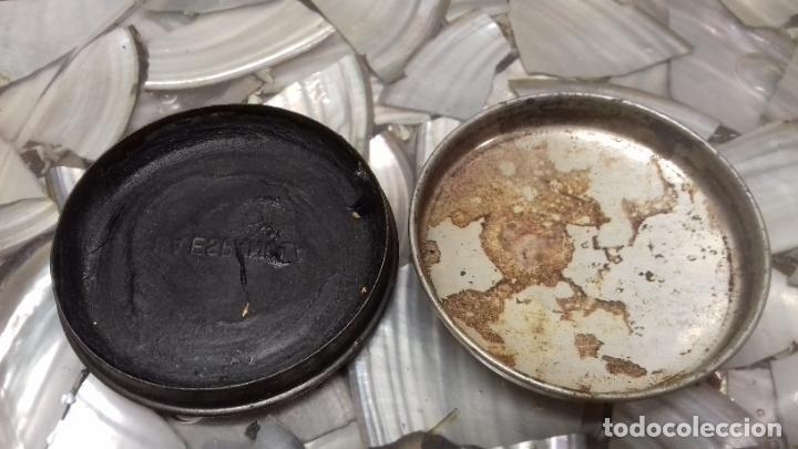 Cajas y cajitas metálicas: ANTIGUA LATA DE CREMA LA ESPAÑOLA - Foto 5 - 194906191