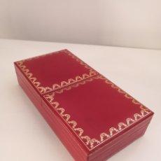 Cajas y cajitas metálicas: CAJA CARTIER PASHA DOBLE APERTURA CON CERTIFICADO. Lote 194927120