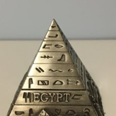 Cajas y cajitas metálicas: JOYERO EGIPTO SOUVENIR. Lote 195005636