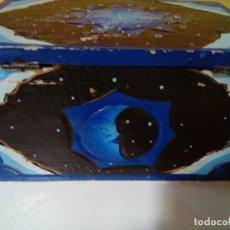 Cajas y cajitas metálicas: BONITA CAJA -BAUL DE MADERA. Lote 195007012