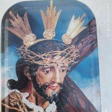 Cajas y cajitas metálicas: LATA DULCE MEMBRILLO IMAGEN CRISTO MARCA EL QUIJOTE. Lote 195008798