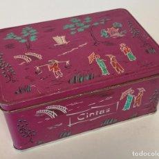 Cajas y cajitas metálicas: CAJA ANTIGUA COLA CAO. Lote 195036121