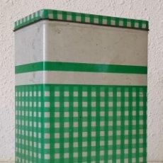 Cajas y cajitas metálicas: BOTE ANTIGUO COLA CAO. Lote 195036360