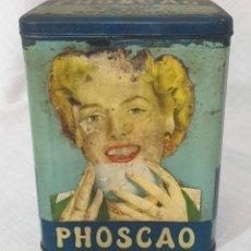 Caixas e caixinhas metálicas: PHOSCAO LATA ORIGINAL INMEJORABLE. Lote 195079083