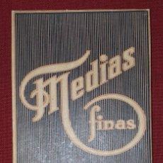 Cajas y cajitas metálicas: CAJA DE CARTÓN - MEDIAS FINAS. Lote 195106762