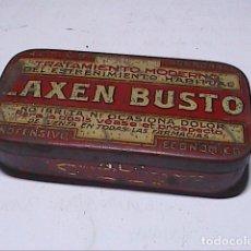 Cajas y cajitas metálicas: CAJITA METÁLICA DE LAXEN BUSTO. 1920.. Lote 195136346