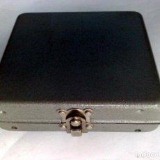 Cajas y cajitas metálicas: ANTIGUO MONEDERO METÁLICO PARA PESETAS DE CONDUCTOR DE TAXIS O/Y AUTOBUS (DESCRIPCIÓN). Lote 195187197