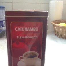 Cajas y cajitas metálicas: CAJA METÁLICA CAFE CATUNAMBÚ. Lote 195188201
