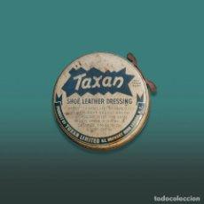 Cajas y cajitas metálicas: CAJA METAL TAXAN. CREMA DE CALZADO TAXAN. PAMPLONA - IRUÑA.. Lote 195248647