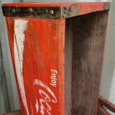 Cajas y cajitas metálicas: ANTIGUA CAJA ORIGINAL COCA COLA XX. Lote 195327401