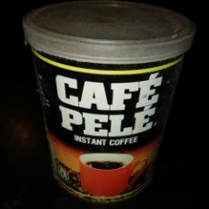 Cajas y cajitas metálicas: LATA DE CAFE PELE SOLUBLE RIO DE JANEIRO BRASIL 1993. Lote 195334770