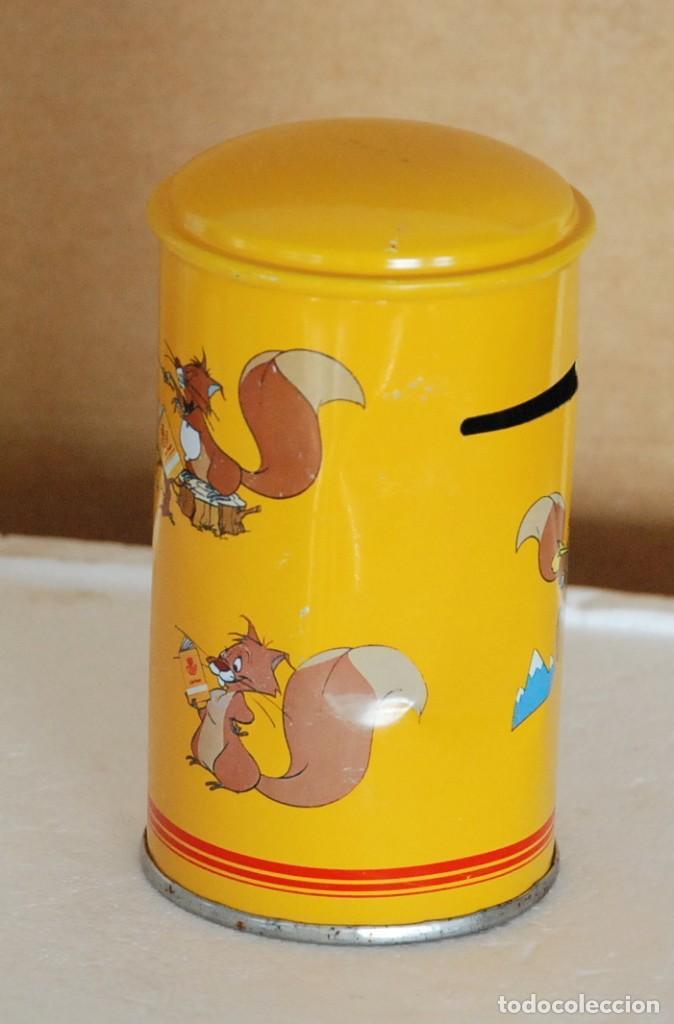 Cajas y cajitas metálicas: HUCHA METALICA DE CORREOS , CAJA POSTAL PUBLICIDAD - Foto 2 - 195337892