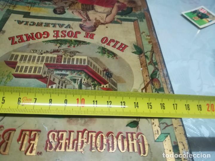Cajas y cajitas metálicas: RARA LATA LITOGRAFIADA DE CHOCOLATES EL BARCO HIJO DE JOSE GOMEZ MIREN FOTOS - Foto 10 - 195341768