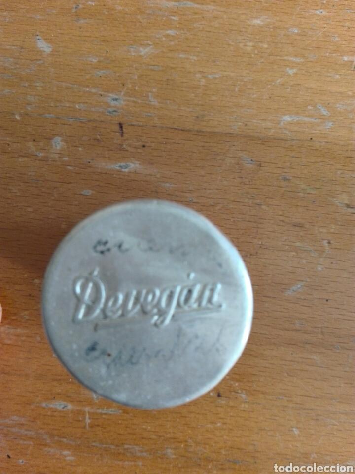 Cajas y cajitas metálicas: BOTE ALUMINIO METÁLICA BAYER TABLETAS VAGINALES - Foto 2 - 195354040