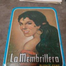 Cajas y cajitas metálicas: CAJA METÁLICA LA MEMBRILLERA. Lote 195359187