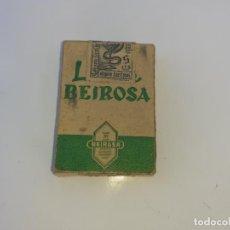 Cajas y cajitas metálicas: CAJA DE FARMACIA BEIROSA CON BELLADONA LAB. VALENCIA // CON CONTENIDO. Lote 195438128