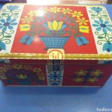 Cajas y cajitas metálicas: CAJA DE COLACAO MUNIICH 1072. Lote 195458038