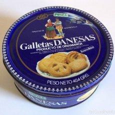 Cajas y cajitas metálicas: LATA DE GALLETAS DANESAS – PRYCA – AÑOS 80/90. Lote 195506270