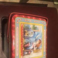 Cajas y cajitas metálicas: LEWIS CARROLL CAJA METAL. Lote 195507008
