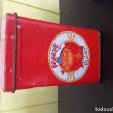 Cajas y cajitas metálicas: CAJITA METÁLICA/PITILLERA POPEYE. Lote 195530411
