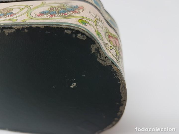 Cajas y cajitas metálicas: ANTIGUA CAJA DE CARTON LA GIRALDA ( JABÓN HIEL DE VACA ) AÑOS 20 - Foto 6 - 195887321