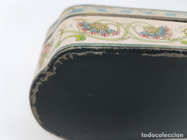 Cajas y cajitas metálicas: ANTIGUA CAJA DE CARTON LA GIRALDA ( JABÓN HIEL DE VACA ) AÑOS 20 - Foto 7 - 195887321