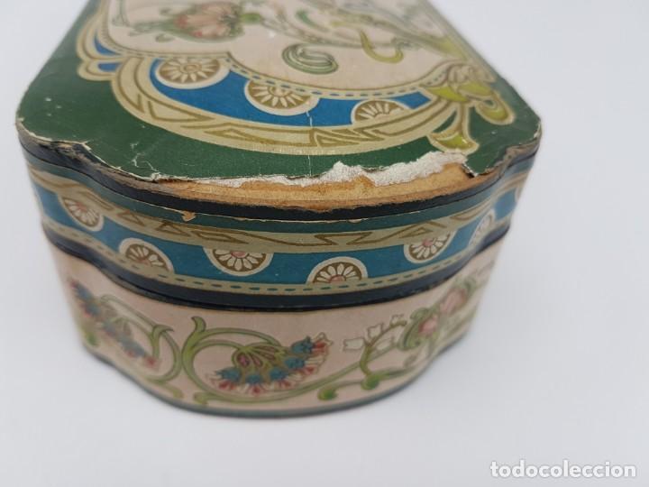 Cajas y cajitas metálicas: ANTIGUA CAJA DE CARTON LA GIRALDA ( JABÓN HIEL DE VACA ) AÑOS 20 - Foto 9 - 195887321