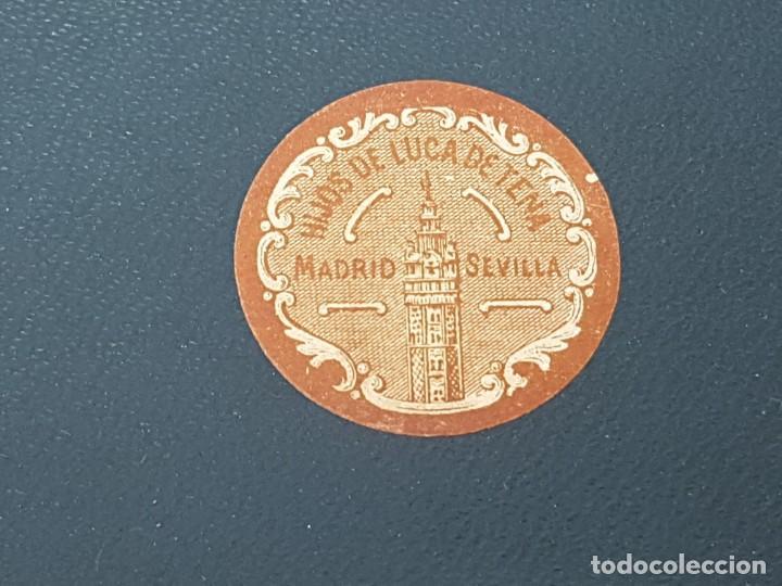 Cajas y cajitas metálicas: ANTIGUA CAJA DE CARTON LA GIRALDA ( JABÓN HIEL DE VACA ) AÑOS 20 - Foto 12 - 195887321