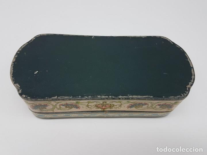 Cajas y cajitas metálicas: ANTIGUA CAJA DE CARTON LA GIRALDA ( JABÓN HIEL DE VACA ) AÑOS 20 - Foto 15 - 195887321