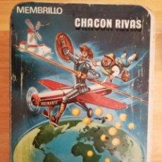 Cajas y cajitas metálicas: CAJA METÁLICA DULCE DE MEMBRILLO CHACON RIVAS, AÑOS 70.. Lote 196799656