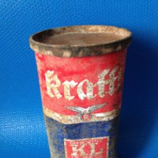 Cajas y cajitas metálicas: ANTIGUA LATA GRASA DE LITIO KRAFFT . Lote 197282301
