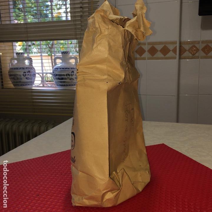 Cajas y cajitas metálicas: SACO DE PAPEL - FLOR DE MALVA - AÑOS 20 - ALMACEN DE DROGAS HIJA DE REMIGIO ROMERO - ALICANTE - Foto 4 - 197718852