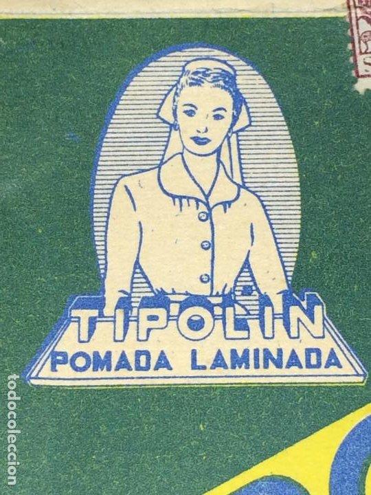 Cajas y cajitas metálicas: TIPOLIN POMADA LAMINADA - CAJA CON POMADA - AÑO 1958 - LABORATORIO DE IND. UNIVERSO, S. A. - Foto 8 - 197869461