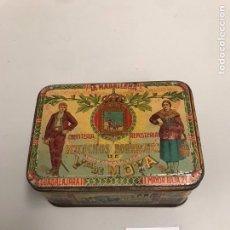 Cajas y cajitas metálicas: CAJA METÁLICA DE COLECCIÓN. Lote 198111292