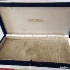 Cajas y cajitas metálicas: ANTIGUA CAJA DE PERLAS MAJORICAS . Lote 198125763
