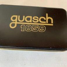 Cajas y cajitas metálicas: CAJA GUASCH, 1859. Lote 198198547
