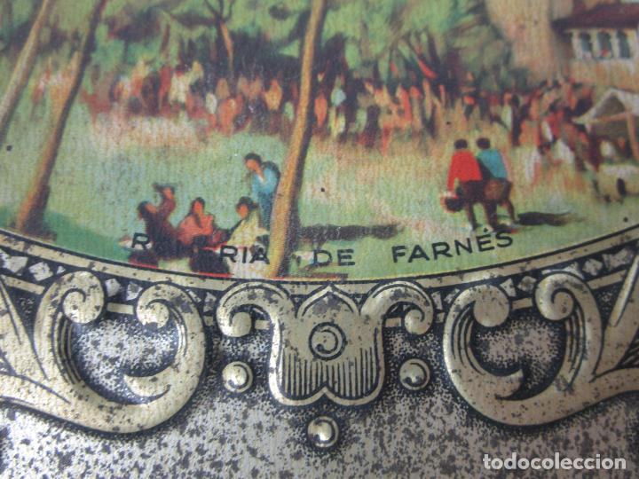 Cajas y cajitas metálicas: Antigua Caja Metálica - Dulcería Tuyarro - Sucs de Francisco Trias, Santa Coloma de Farnés - Romería - Foto 4 - 198384837