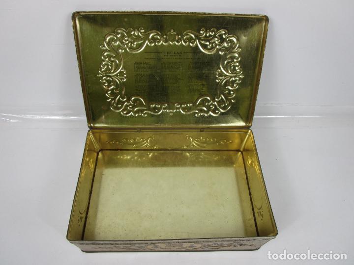 Cajas y cajitas metálicas: Antigua Caja Metálica - Dulcería Tuyarro - Sucs de Francisco Trias, Santa Coloma de Farnés - Romería - Foto 9 - 198384837
