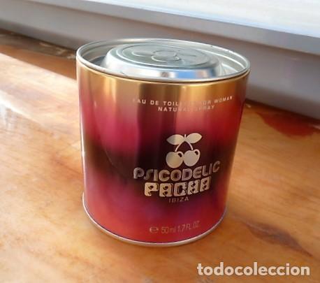 Cajas y cajitas metálicas: Caja, estuche metal colonia Pacha Psicodelic - Foto 2 - 198962558
