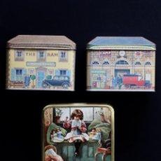 Cajas y cajitas metálicas: LOTE DE 3 CAJAS METÁLICAS DE COLECCIÓN. Lote 199420142