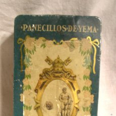Cajas y cajitas metálicas: LATA CASA PADRENY - REUS. EST ANDREIS - BADALONA. MED. 24 X 12,50 X 7 CM. Lote 200311525
