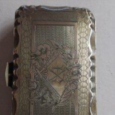 Boîtes et petites boîtes métalliques: ANTIGUA PURERA DE PLATA S XIX (9CMX5CM). Lote 200874112
