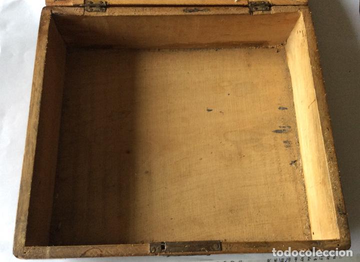 Cajas y cajitas metálicas: ANTIGUA CAJA EN MADERA SIGLO XIX,IDEAL DECORACIÓN - Foto 4 - 202338730