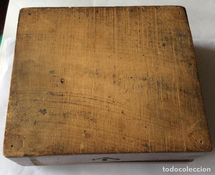 Cajas y cajitas metálicas: ANTIGUA CAJA EN MADERA SIGLO XIX,IDEAL DECORACIÓN - Foto 5 - 202338730